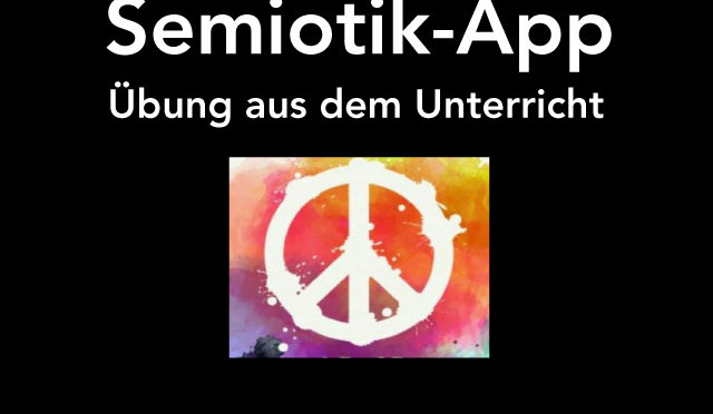 Semiotik – Übung mit Learning-App