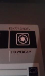 Zeichen für Webcam