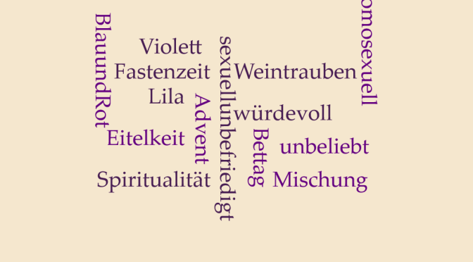 """Die Farbe """"Violett"""""""